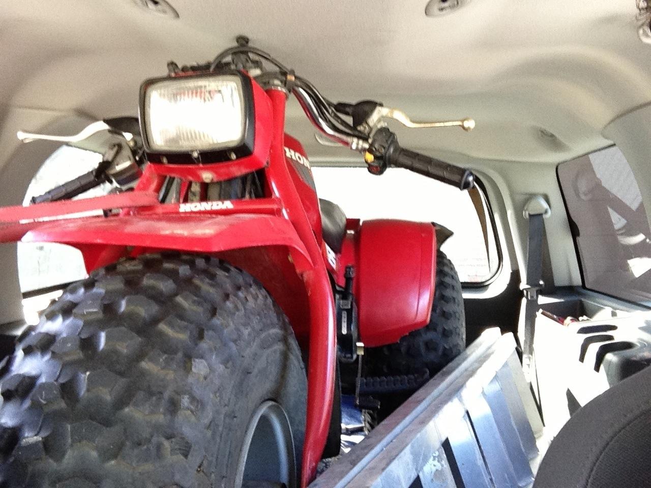 1985 Honda ATC 350X Quad...?!?! - Honda ATV Forum